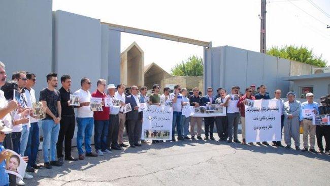 Erbil'de 'Soykırımsız Bir Kürdistan' gösterisi