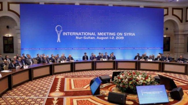 Astana'da Suriye'de özerk yönetim girişimlerine ret