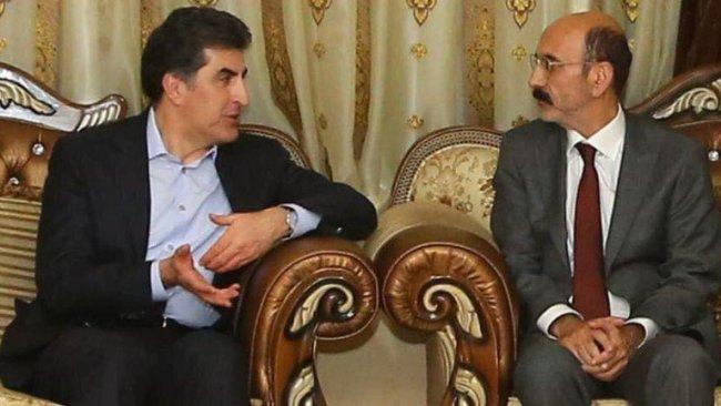 Başkan Barzani Ezidi Miri Hazım Tahsin Beg ile bir araya geldi