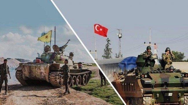 İran basını: Rojava'da Türk Ordusu ie DSG arasında şiddetli çatışmalar var