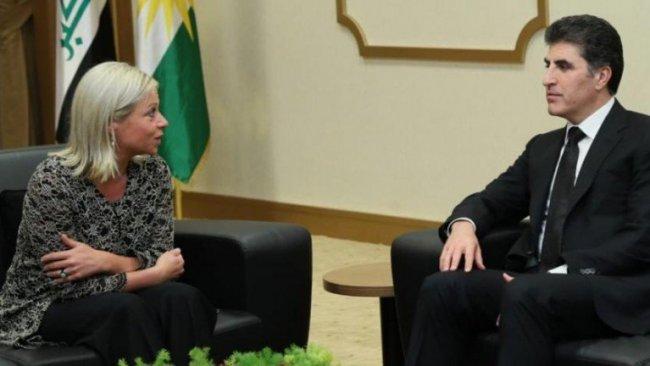 Kürdistan Bölgesi Başkanı, BM Özel Temsilcisi ile Şengal'i görüştü