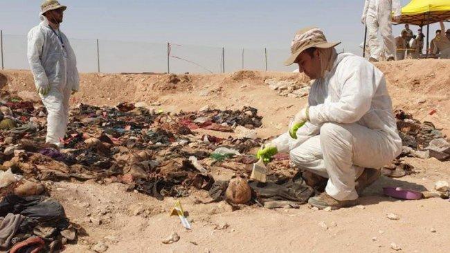 Kürtlere ait yeni bir toplu mezar daha bulundu