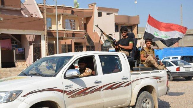 Irak'ta Haşdi Şabi protestosu