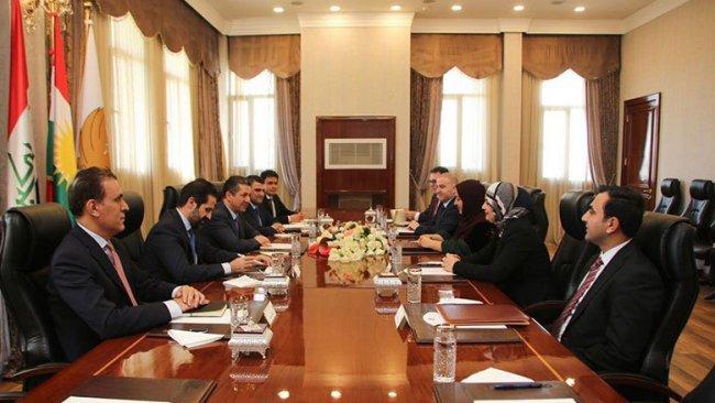 Kürdistan Bölgesi Hükümeti ve Parlamento'dan koordinasyon vurgusu