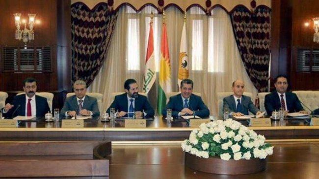 Kürdistan Bakanlar Kurulu'ndan 140'ıncı madde kararı