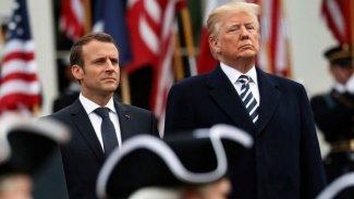 Trump'tan Macron'a: İran'a karışık sinyaller gönderme