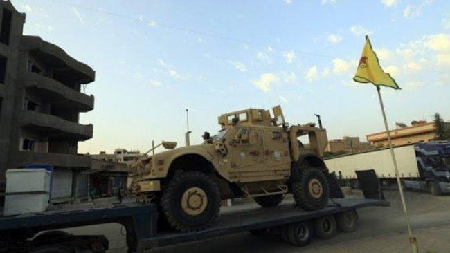 ABD'den YPG'ye yeni askeri sevkiyat!