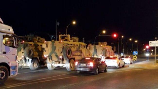 TSK'dan Rojava sınırına yeni askeri sevkiyat