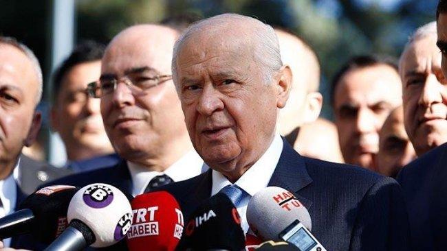 Bahçeli: Erken seçim, PKK/PYD'ye cesaret vermek demektir