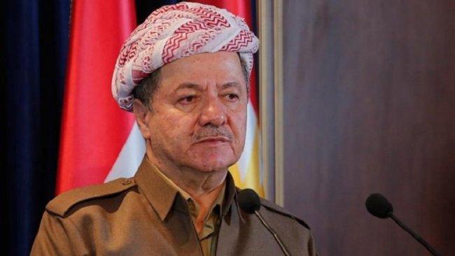 Başkan Barzani'den HÜDA PAR'a taziye mesajı