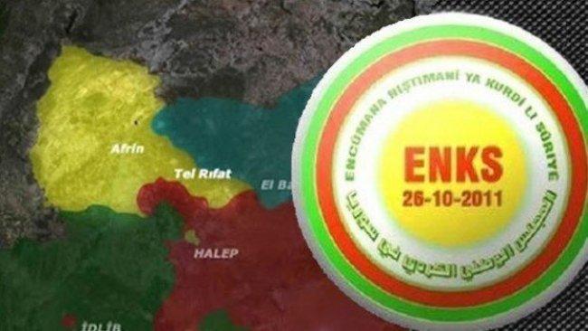 ENKS: Afrin'deki senaryonun Fıratın doğusunda tekrarlanması kabul edilemez