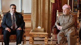 Başkan Barzani, Irak Savunma Bakanı'nı kabul etti