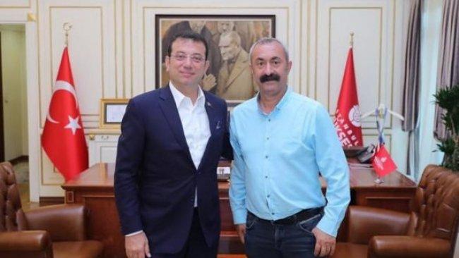 Komünist Başkan'dan İmamoğlu'na ziyaret
