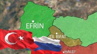 Rusya ve Türkiye'den Til Rıfat'ta ortak devriye