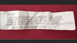İzmir'de evlere TİT imzalı tehdit mesajı