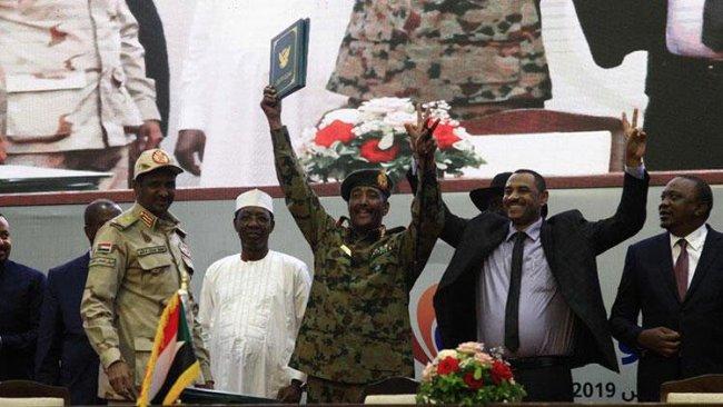 Sudan'da anayasal bildiri anlaşması imzalandı