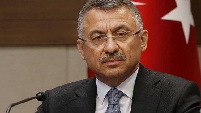Fuat Oktay'dan HDP'li başkanların görevden alınmasına ilişkin açıklama