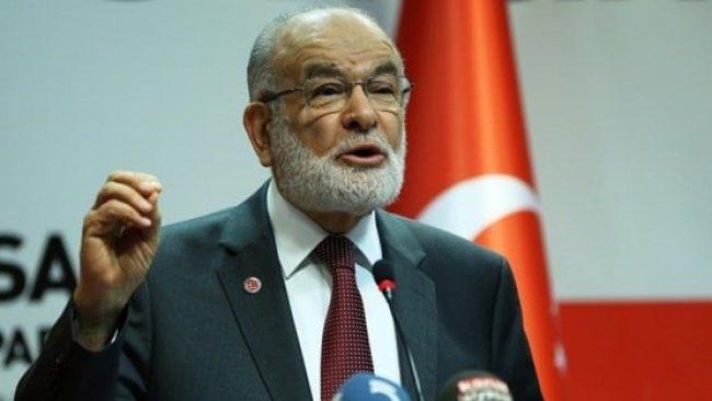 Karamollaoğlu: Milli iradeye ipotek kondu