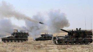 TSK'den Rojava'daki YPG mevzilerine bombardıman
