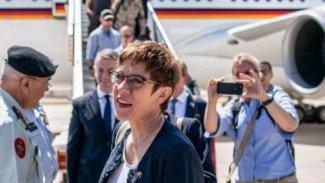 Almanya Savunma Bakanı Erbil'e geliyor