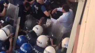 Diyarbakır ve Mardin'de 'kayyum protestolarına' polis müdahalesi