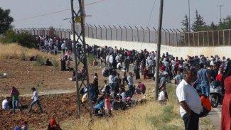 İdlib'den kaçan on binlerce sivil Türkiye'ye yöneldi
