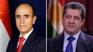 Başbakan Barzani'den Peşmerge Bakanı'na başsağlığı telefonu