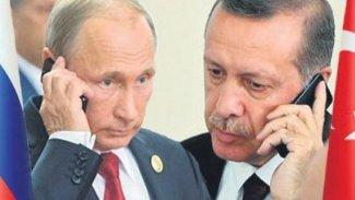 Erdoğan ve Putin telefonda Suriye'yi görüştü