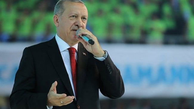 Erdoğan: Batı tehdit sallıyor, biz tehdit mehdit dinlemeyiz