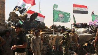 Haşdi Şabi'ye ait silah depoları taşınıyor
