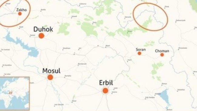 TSK, Kürdistan Bölgesi sınırında 'güvenli bölge' oluşturacak iddiası