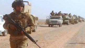Irak- Suriye sınırında Haşdi Şabi'ye hava saldırısı