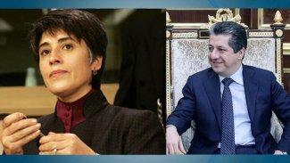 Leyla Zana'dan Başbakan Mesrur Barzani'ye mesaj