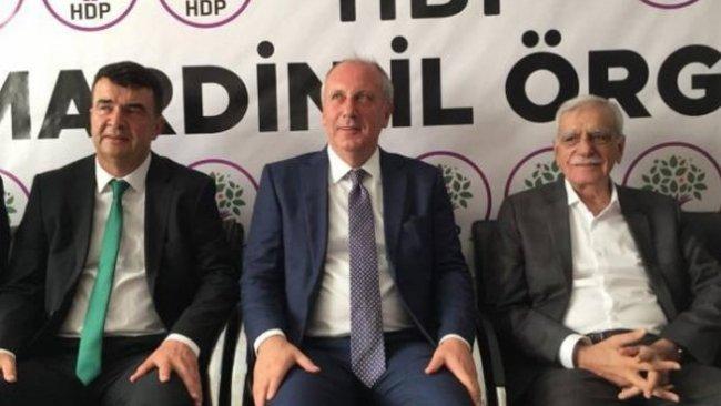 Muharrem İnce, Ahmet Türk'ü ziyaret etti