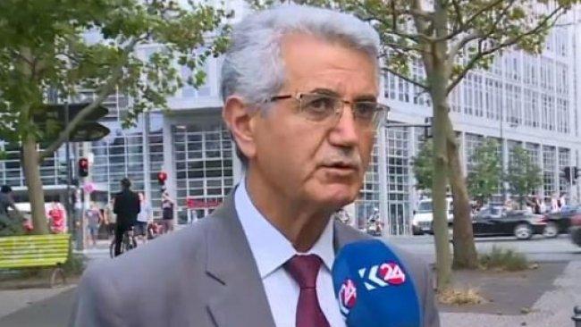 ENKS heyeti Almanya'da...Gündem Suriye