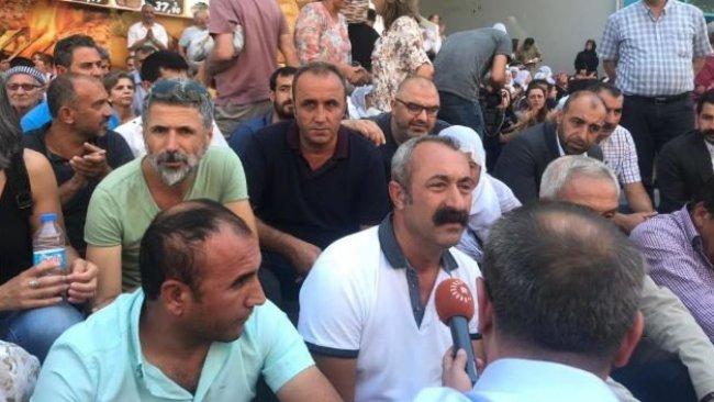 Komünist Başkan'dan kayyuma karşı HDP'ye destek