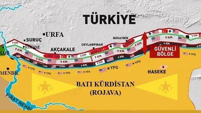YPG güçlerini sınırdan çekti