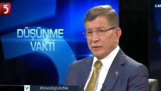 Ahmet Davutoğlu 'Eski defterler açılırsa' sözlerine açıklık getirdi