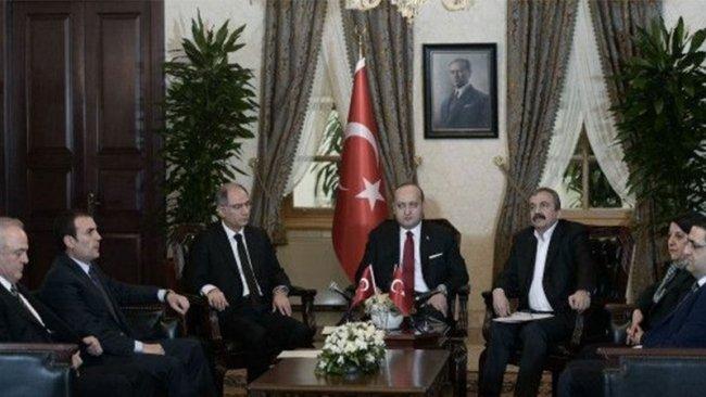 Erdoğan, Dolmabahçe Mutabakatı'nda oturma yerlerini A4 kağıda çizmiş