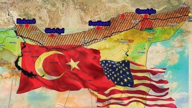 'Güvenli Bölge' anlaşması Kürtlerle uyumlu bir şekilde uygulanıyor