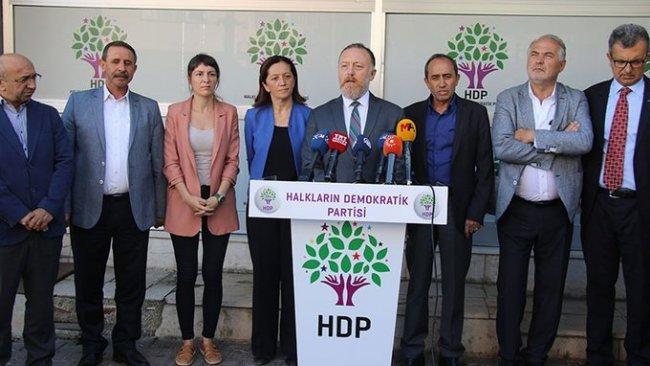 HDP: Kayyumlar üç ille sınırlı kalmayacak