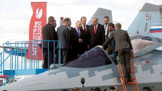 Rusya: Türkiye ile Su-35 ve Su-57 teslimatını görüşüyoruz