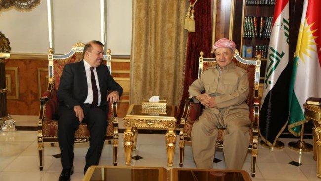 Başkan Barzani, Irak heyeti ile bir araya geldi