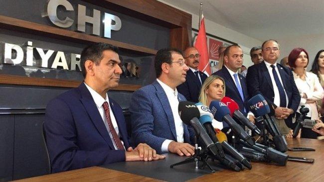 İmamoğlu'ndan Diyarbakır'da 'kayyum' mesajı