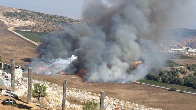 Hizbullah, İsrail askeri üssünü vurdu