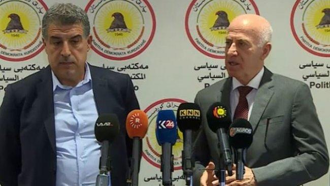 KDP, YNK ve Goran 'Kürdistani Bölgeler' için bir araya geliyor