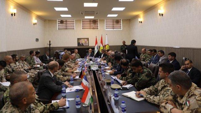 'Uluslararası Koalisyon ve Peşmerge arasındaki koordinasyon arttırılmalı'