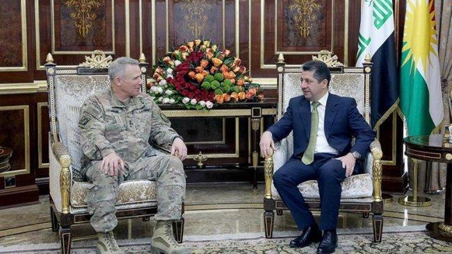 Başbakan ABD'li üst düzey askeri heyeti kabul etti