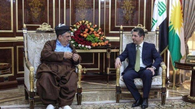 Başbakan Barzani, Muhammed Hacı Mahmud ile görüştü