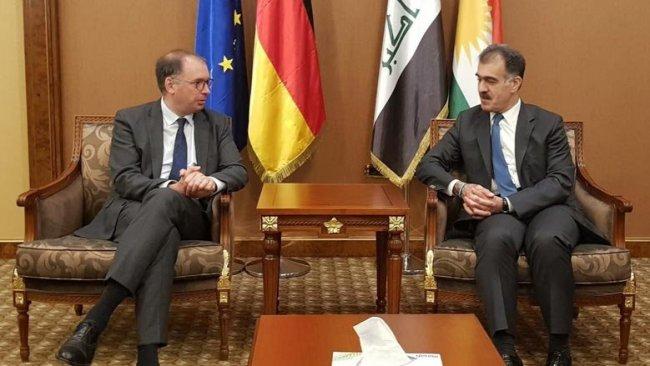 Almanya Dışişleri Bakan Yardımcısı Erbil'de
